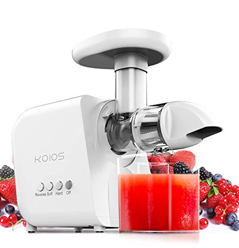 KOIOS Juicer, High Juice Yield and Germany EMGEL Motor Review