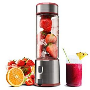 Personal Glass Smoothie Blender, Kacsoo S610 USB  Review